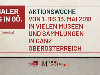 Banner - Internationaler Museumstag in OÖ.
