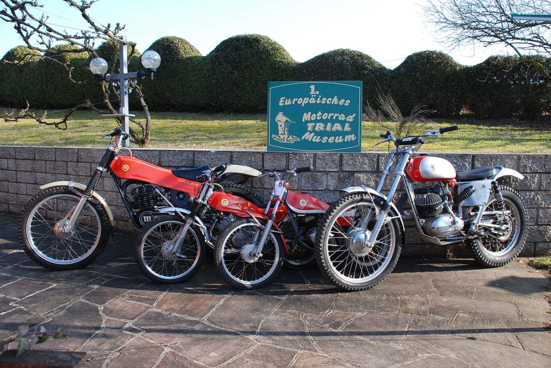 erstes europ isches motorrad trial museum suche museen in o verbund ober sterreichischer. Black Bedroom Furniture Sets. Home Design Ideas